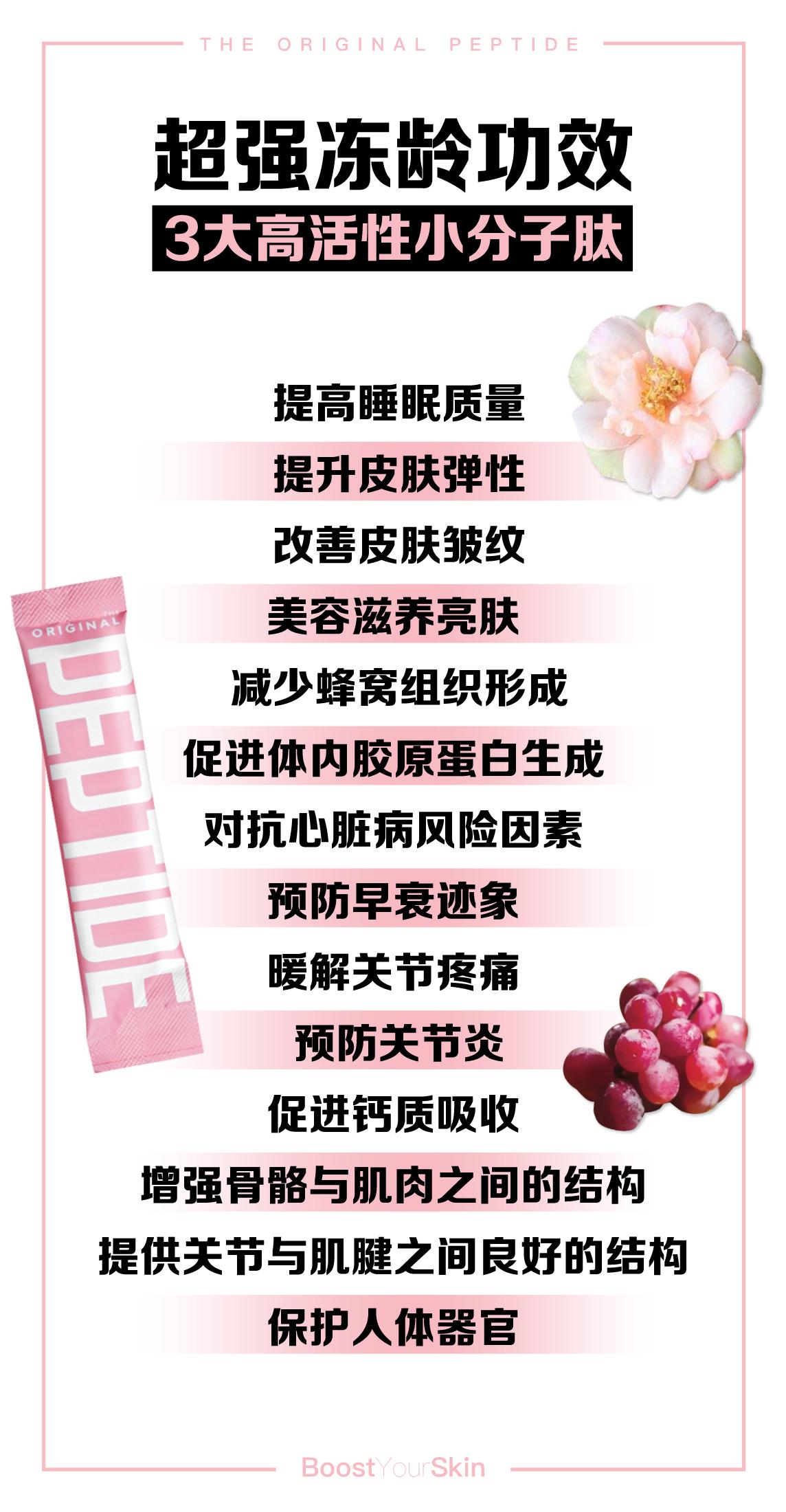 The Original Peptide 胶原蛋白肽_功效